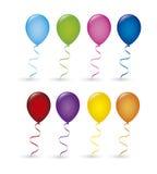 Balloons birthday Royalty Free Stock Photo
