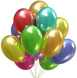 Balloons. Birthday and party decoration. Royalty Free Stock Photos