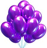 Balloons. Birthday and party decoration. Stock Image
