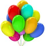 Balloons. Birthday and party decoration. Stock Photography