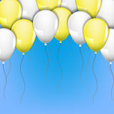 Balloons on Royalty Free Stock Images