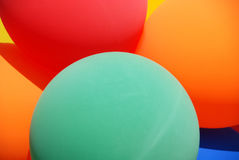 Balloons bouquet Royalty Free Stock Photo