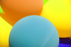 Balloons bouquet Stock Photography