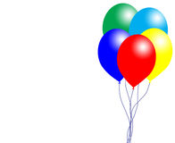 Balloons and bubble Royalty Free Stock Photo