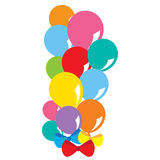 Balloons Bunch Stock Photo