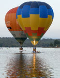 Balloons at the Canberra Balloon Festival 13th March 2016 Stock Images