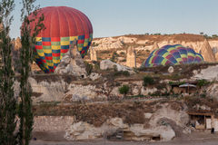 Balloons in Cappadocia Royalty Free Stock Image