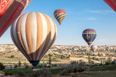 Balloons in Cappadocia Stock Photo