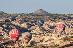 Balloons in Cappadocia Stock Images