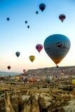 Balloons in Cappadocia Royalty Free Stock Photography