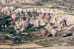 Balloons in Cappadocia Royalty Free Stock Images