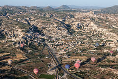 Balloons in Cappadocia Stock Image