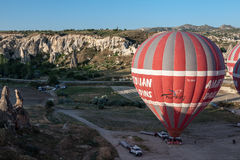 Balloons in Cappadocia Royalty Free Stock Photography