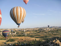 Balloons in Cappadocia Turkey Royalty Free Stock Image