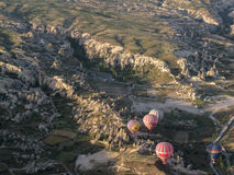 Balloons Cappadocia Turkey Stock Photography