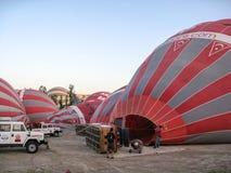 Balloons in Cappadocia Turkey Stock Photo