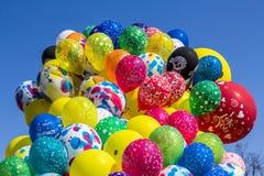 Balloons  carnival blue sky Stock Photo