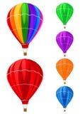 Balloons a coleção Imagens de Stock Royalty Free