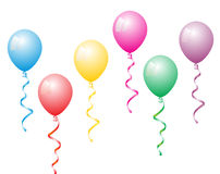 Balloons color Royalty Free Stock Photos