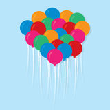 Balloons Colors Group Stock Photo