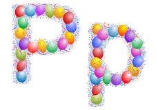Balloons and confetti – Lett Stock Photo
