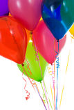 Balloons: Crop of Colorful Balloons Gathered Together Royalty Free Stock Photos