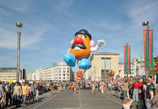 Balloons Day in Brussels Royalty Free Stock Photo