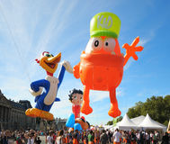 Balloons Day Parade Stock Photo
