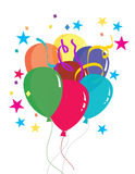 Balloons Decoration Royalty Free Stock Images