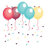Balloons design Royalty Free Stock Image
