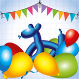 Balloons design Royalty Free Stock Images