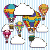 Balloons design Stock Image