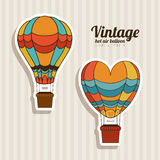 Balloons design Royalty Free Stock Photography