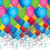 Balloons design Royalty Free Stock Photos