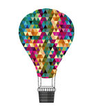 Balloons design. Over white background vector illustration Royalty Free Stock Photography