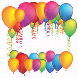 Balloons design Royalty Free Stock Photo