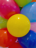 Balloons of different colors Stock Photo