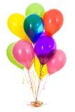 Balloons: Dozen Latex Balloon Bouquet Royalty Free Stock Image
