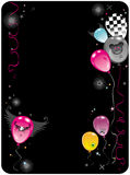 Balloons Emo composition 2 Royalty Free Stock Images