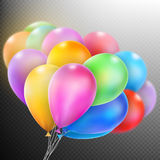 Balloons . EPS 10 Stock Images