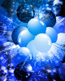 Balloons filling the background Royalty Free Stock Image