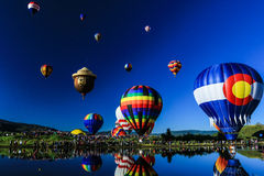 Balloons A Float Royalty Free Stock Images