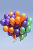 Balloons flying Royalty Free Stock Photo