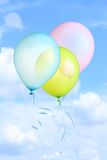 Balloons flying Royalty Free Stock Image