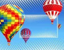 Balloons_frame Stock Image