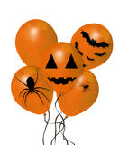 Balloons for Halloween Royalty Free Stock Photo