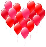 Balloons heart Royalty Free Stock Images