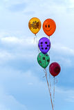 Balloons with helium Royalty Free Stock Images