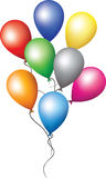 Balloons for holiday decoration Royalty Free Stock Photography