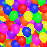 Balloons Illustration Royalty Free Stock Image